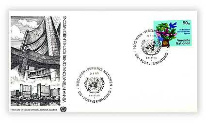 1979 50g UN Donau Park