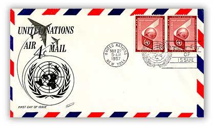 1957 4c Air Letter Sheet 1961