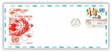 11c Air Envelope #10 1973