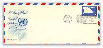 7c Air Envelope #10 1959