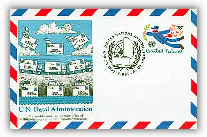 28c Air Post Card 1982
