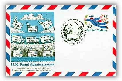28c Air Post Card 1982