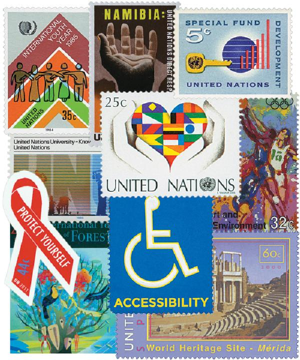 1951-2011 UN New York Year Sets