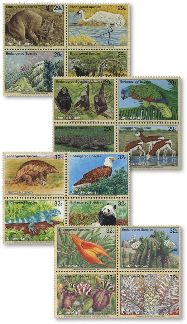 1993-96 UN Endangered Species-Special
