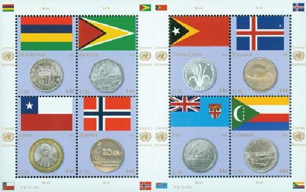 2011 United Nations Coin & Flag Series