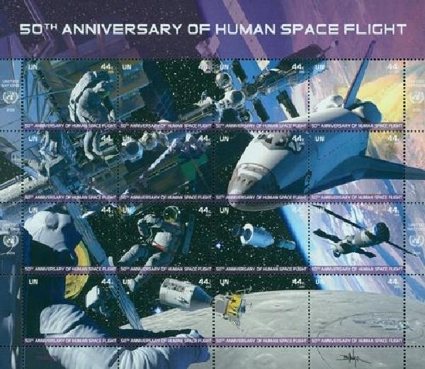 2011 United Nations Human Space Flight 50th A