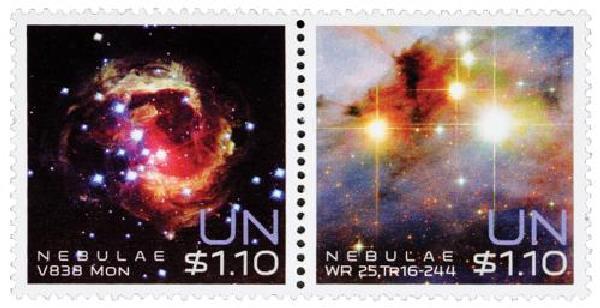 2013 $1.10 UN NY Space