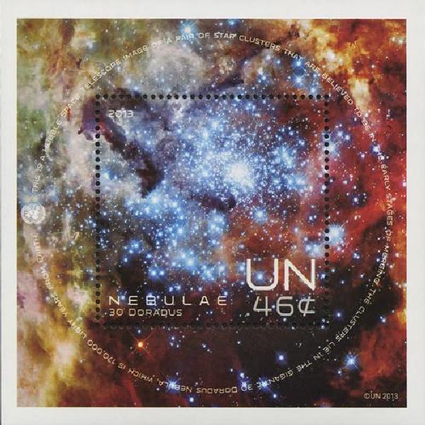 2013 UN Space S/S Nebula