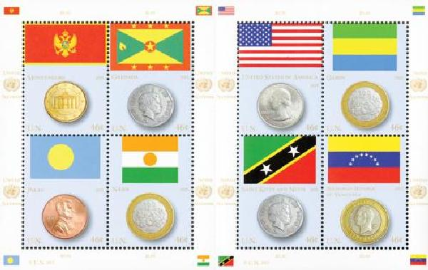 2013 UN NY Coin and Flag Series