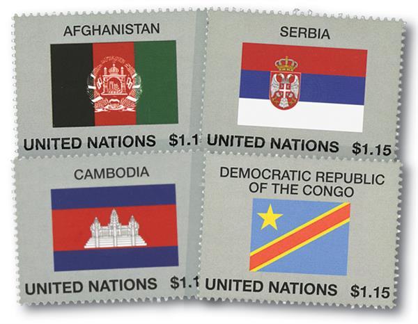 2014 $1.15 Flag Series