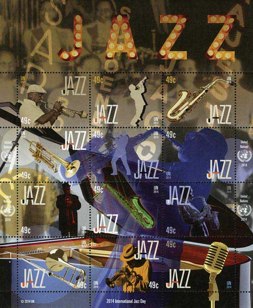 2014 49c Intnl Year of Jazz