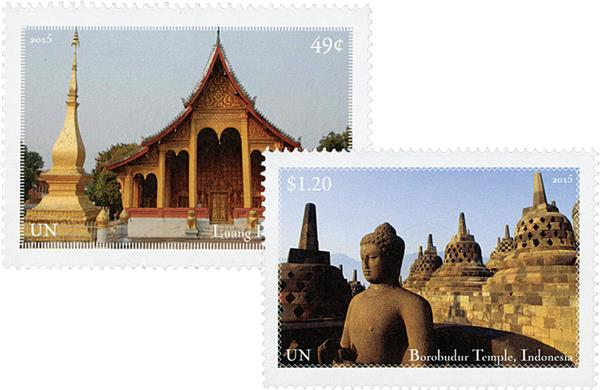 2015 49c & $1.20 World Heritage Sites