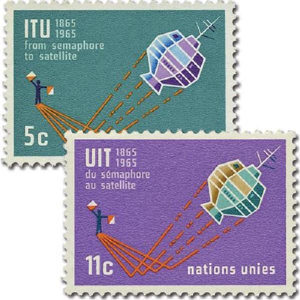 1965 Intl Telecommunications Centenary