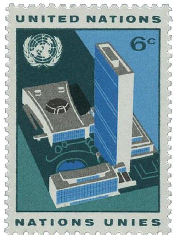1968 6c Definitive