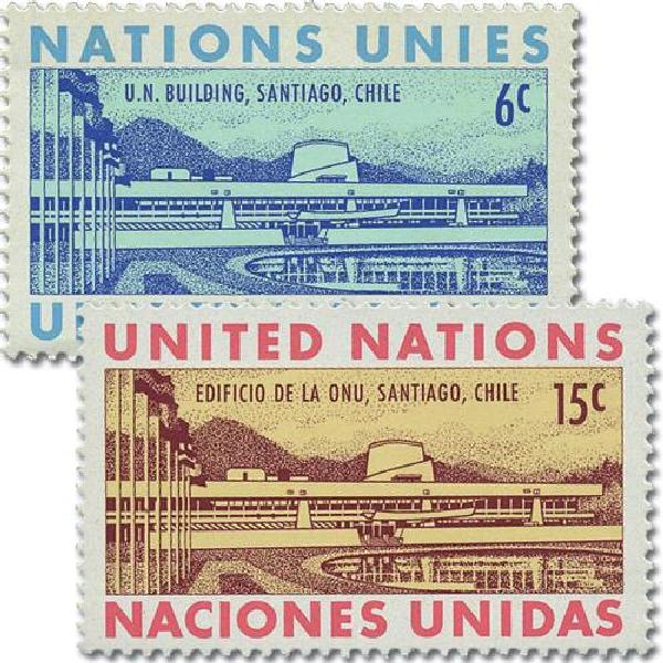 1969 United Nations Building, Chile