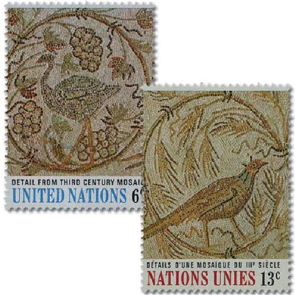 1969 Tunisian Mosaics