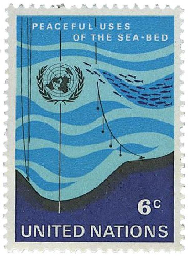 1971 Peaceful Uses of the Sea Bed