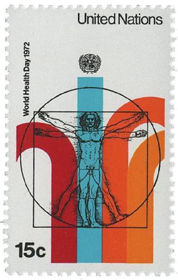 1972 15c World Health Organization