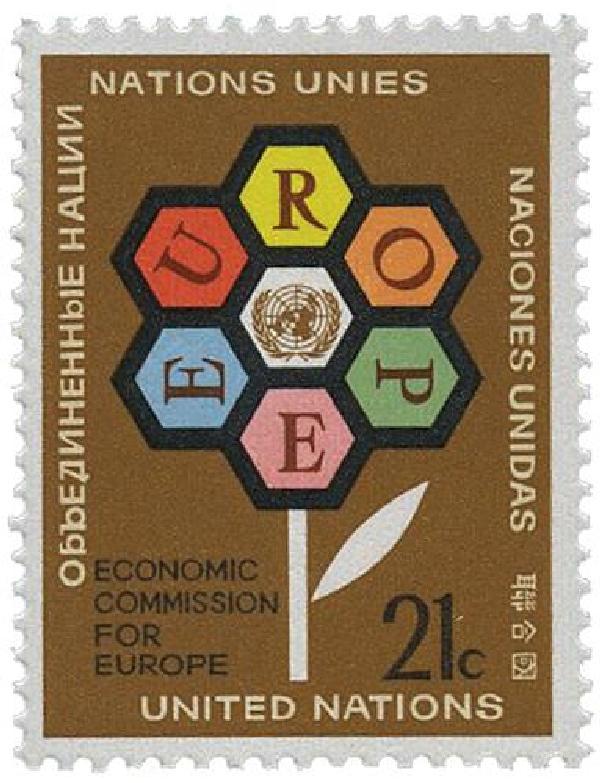 1972 21c Economic Committee, Europe