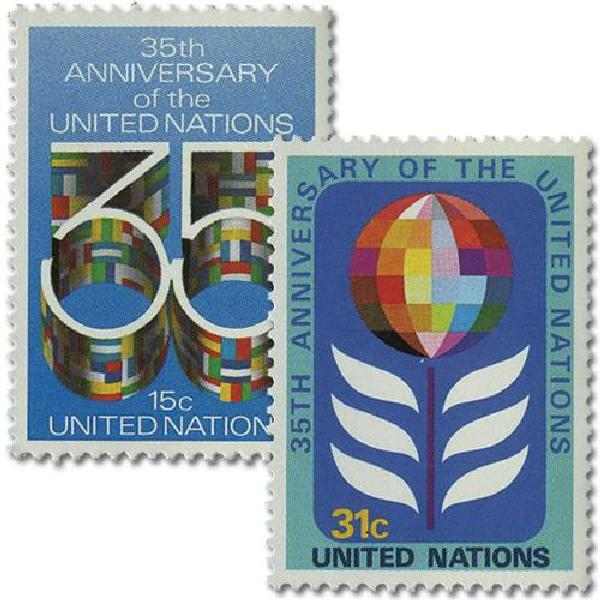 1980 United Nations 35th Anniversary