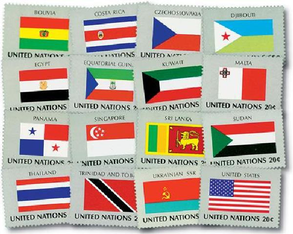 1981 World Flags