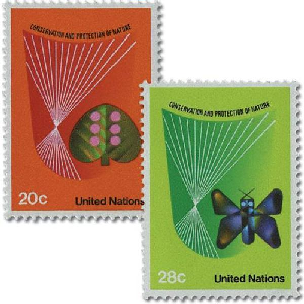 1982 20c & 28c Nature Conservation