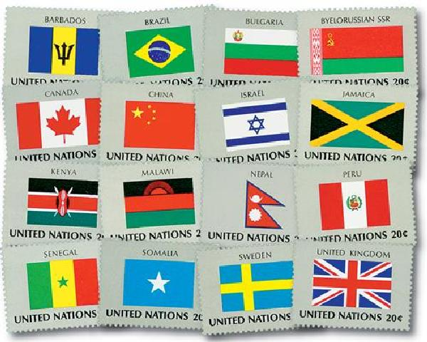 1983 World Flags
