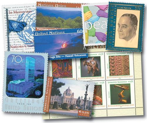 2003 UN NY, Geneva & Vienna year set