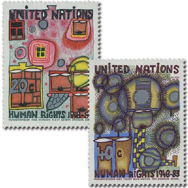 1983 Dec. of Human Rights, 35th Anniv.