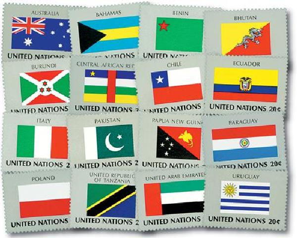 1984 World Flags