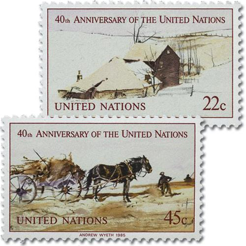 1985 United Nations 40th Anniversary
