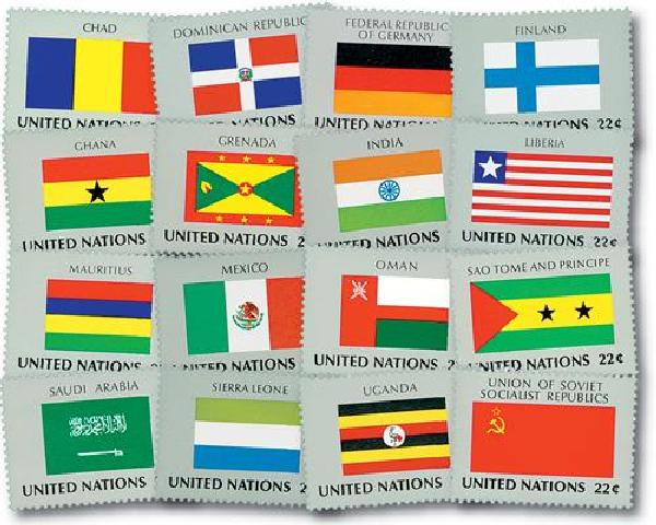 1985 World Flags