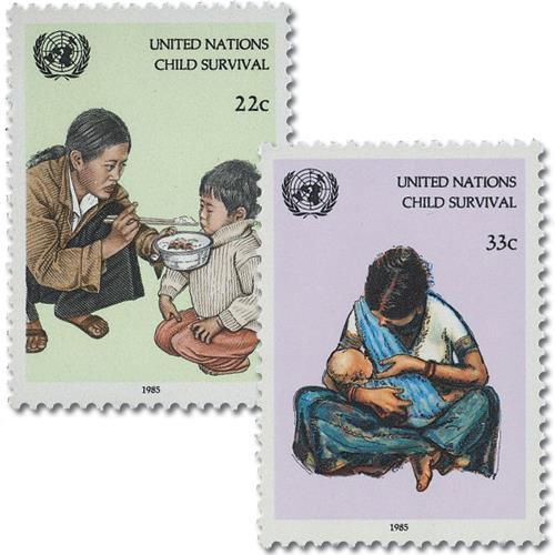1985 UNICEF Child Survival Campaign