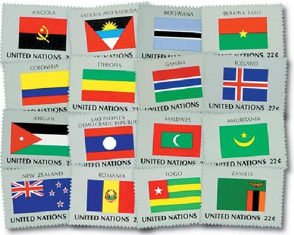 1986 World Flags