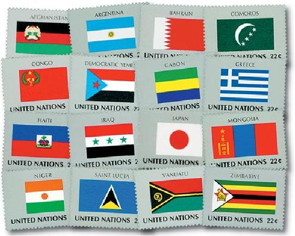 1987 World Flags
