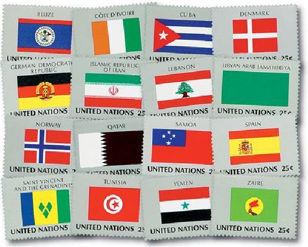 1988 World Flags