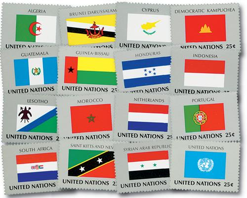 1989 World Flags