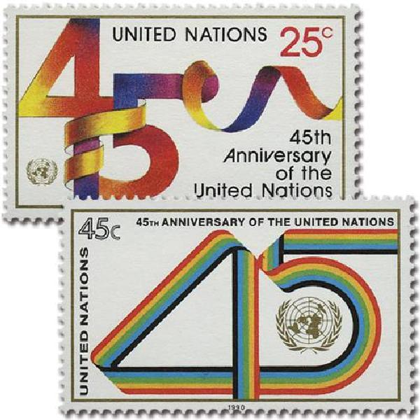1990 United Nations 45th Anniversary