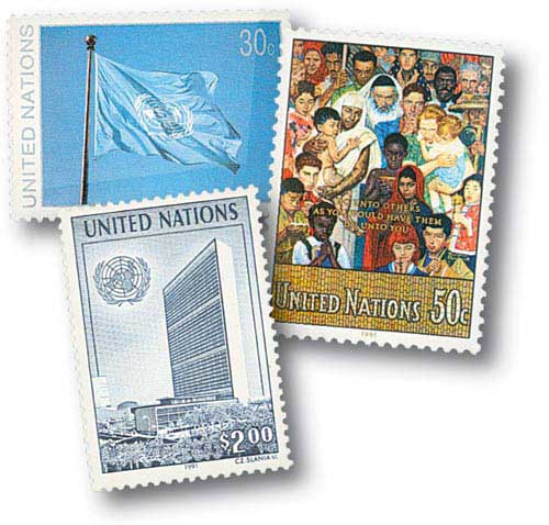 1991 United Nations Flag; The Go