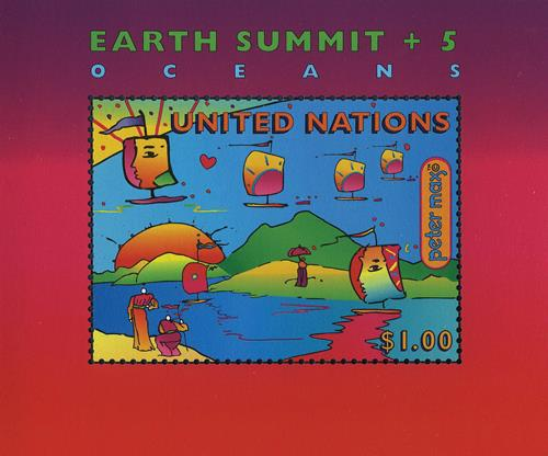 1990 Earth Summit 5th Anniversary, S/S