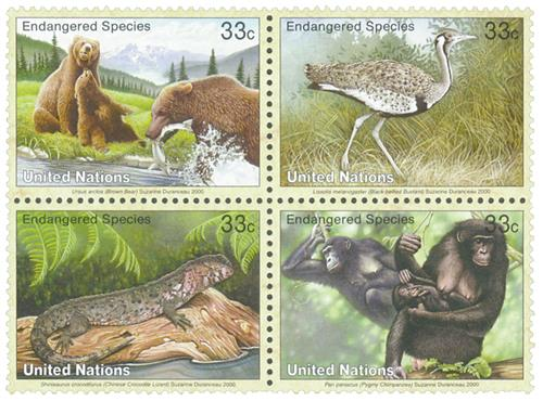 2000 Endangered Species, NY issue
