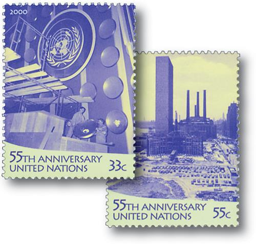 2000 55th Anniversary of UN
