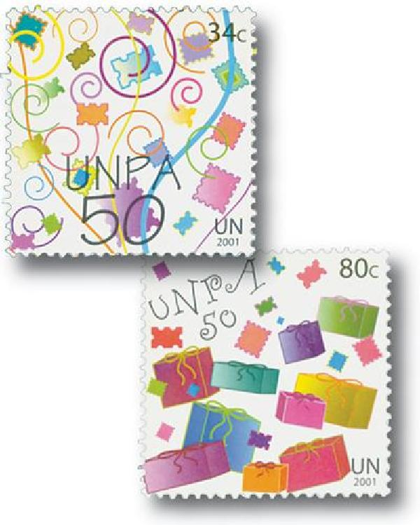 2001 UN Postal Admin. 50th Anniversary