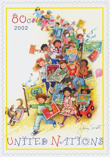 2002 Children and Stamps
