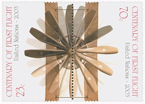 2003 Centenary of First Flight, 2 stamps
