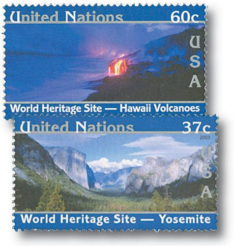 2003 World Heritage Sites