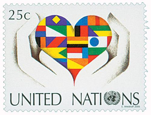 2006 Stylized Flags in Heart & Hands