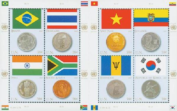 2007 Coin and Flag Series