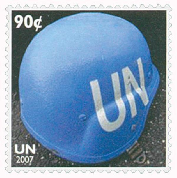 2007 90c Peacekeeping Helmet