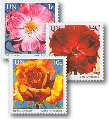 2009 United Nations Complete Set of 3